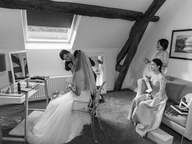 Le mariage de Haochen et Siwen à Vaugrigneuse, Essonne 11