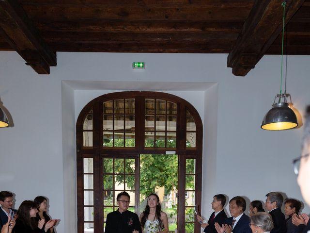 Le mariage de Haochen et Siwen à Vaugrigneuse, Essonne 14