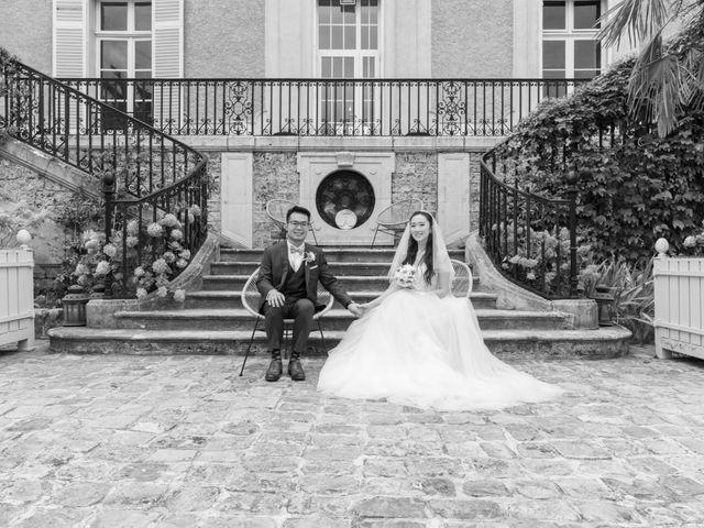 Le mariage de Haochen et Siwen à Vaugrigneuse, Essonne 23