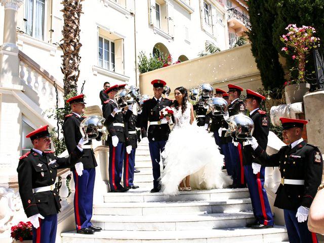 Le mariage de Julien et Christelle à Villefranche-sur-Mer, Alpes-Maritimes 15
