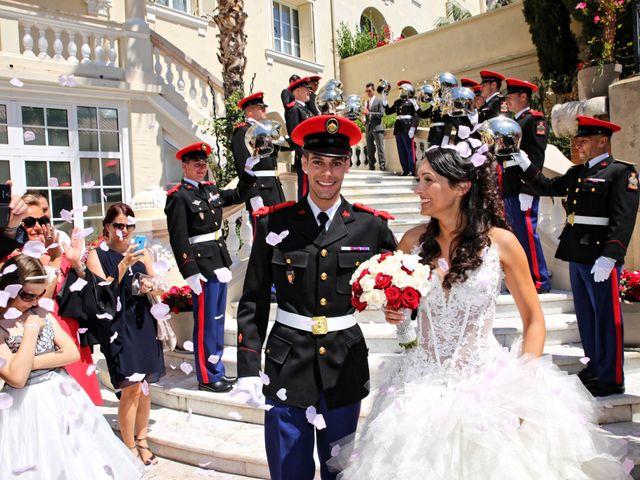 Le mariage de Julien et Christelle à Villefranche-sur-Mer, Alpes-Maritimes 16