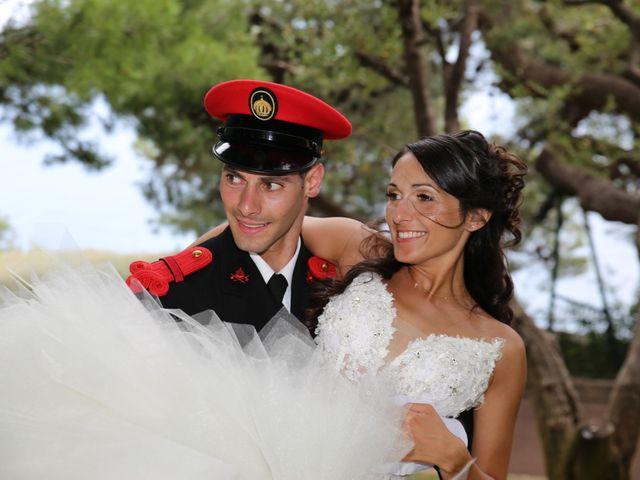 Le mariage de Julien et Christelle à Villefranche-sur-Mer, Alpes-Maritimes 23