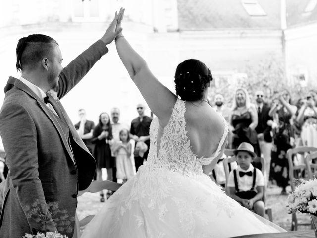 Le mariage de Joël et Audrey à Juvardeil, Maine et Loire 7