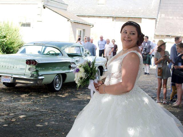 Le mariage de Joël et Audrey à Juvardeil, Maine et Loire 9