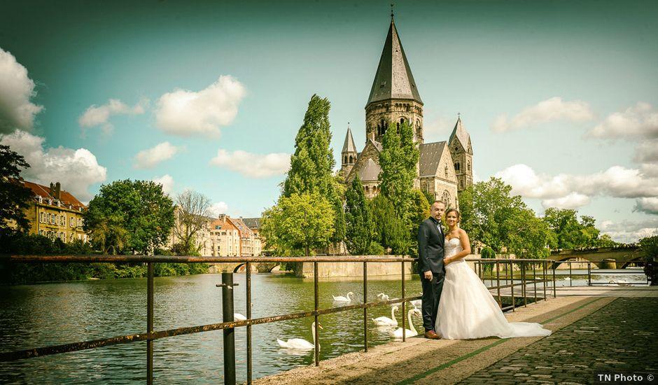 Le mariage de Benjamin et Jessica à Metz, Moselle