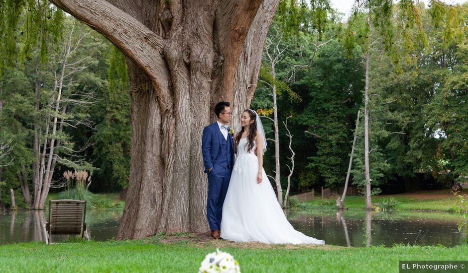 Le mariage de Haochen et Siwen à Vaugrigneuse, Essonne