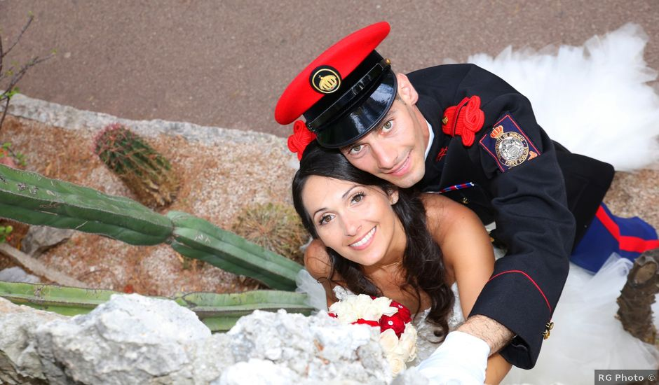 Le mariage de Julien et Christelle à Villefranche-sur-Mer, Alpes-Maritimes