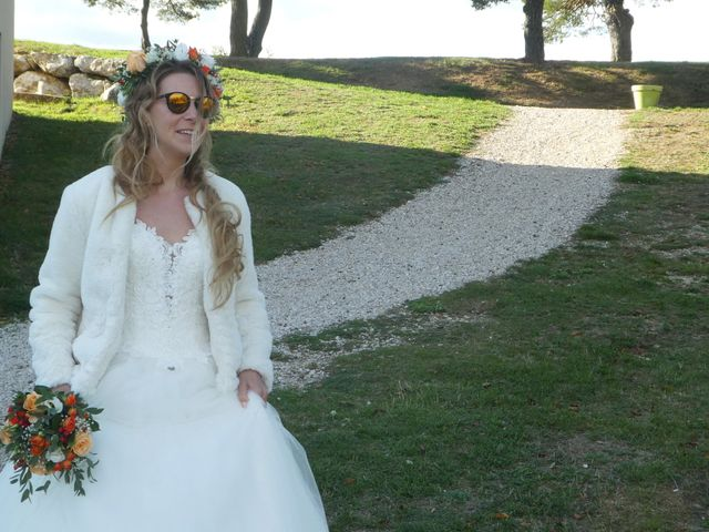 Le mariage de Alban et Lucie à Mirmande, Drôme 1