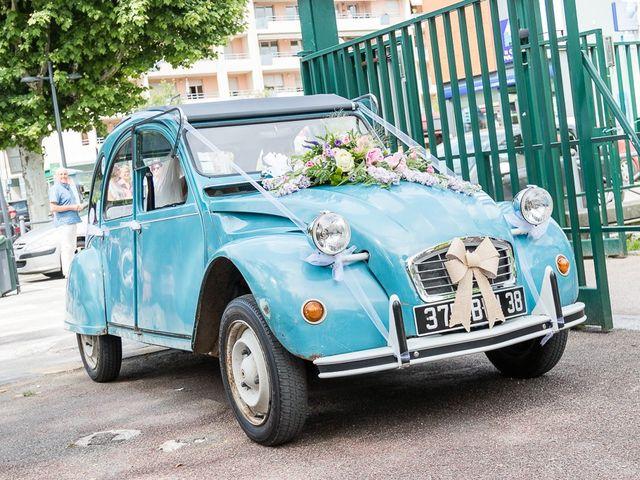 Le mariage de Sylvain et Morgane à Voiron, Isère 14