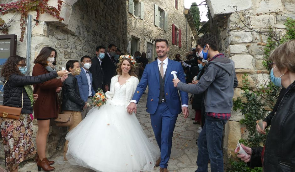Le mariage de Alban et Lucie à Mirmande, Drôme