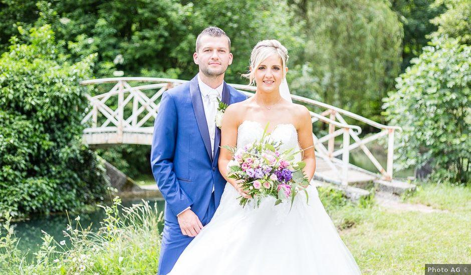 Le mariage de Sylvain et Morgane à Voiron, Isère