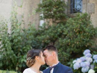 Le mariage de Laeticia et Ghislain