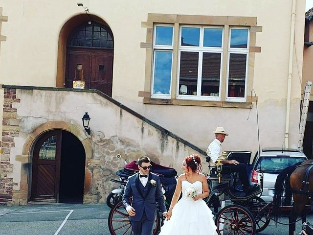Le mariage de Stéphane et Clara à Ergersheim, Bas Rhin 1