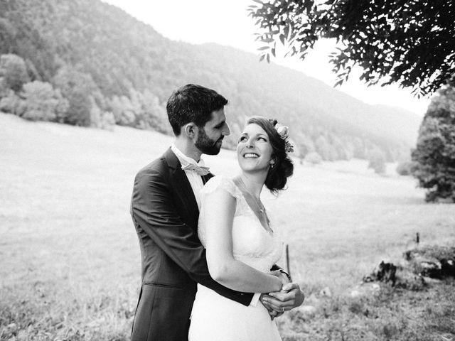 Le mariage de Antoine et Carine à Autrans, Isère 61