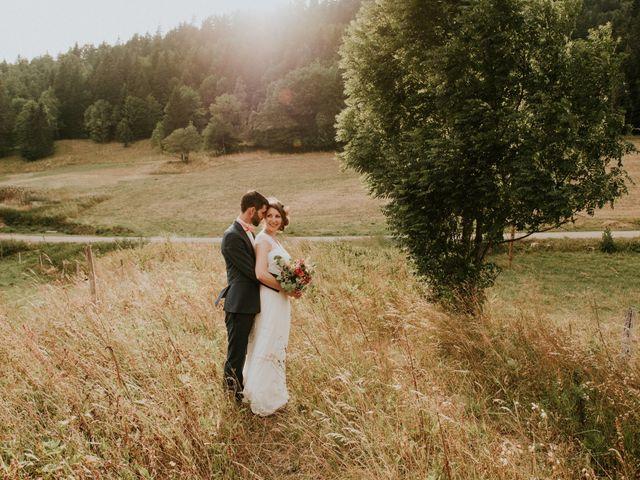 Le mariage de Antoine et Carine à Autrans, Isère 63