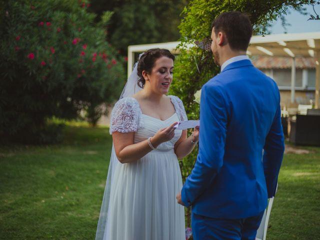 Le mariage de Kevin et Sinead à Sauveterre, Gard 5