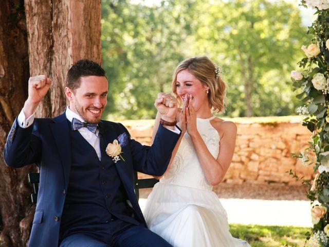 Le mariage de Arnaud et Ciara à Sarlat-la-Canéda, Dordogne 32