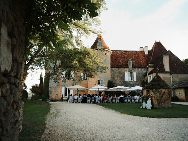 Le mariage de Arnaud et Ciara à Sarlat-la-Canéda, Dordogne 55