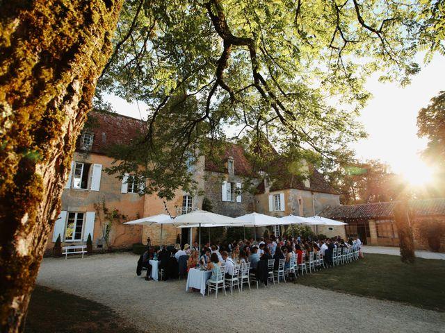 Le mariage de Arnaud et Ciara à Sarlat-la-Canéda, Dordogne 56