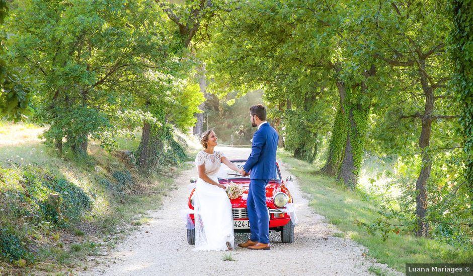 Le mariage de Augustin et Marie à Trets, Bouches-du-Rhône
