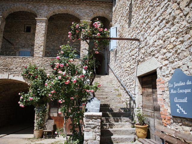 Le mariage de Nicolas et Aline à Rousson, Gard 1