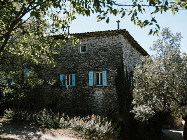 Le mariage de Nicolas et Aline à Rousson, Gard 2