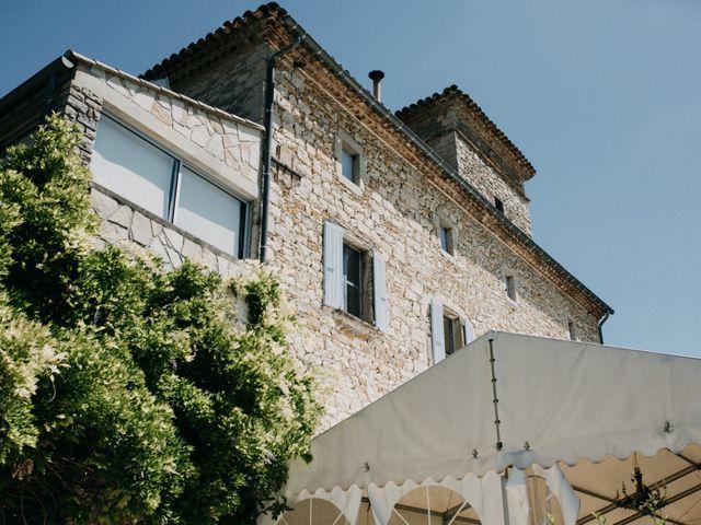 Le mariage de Nicolas et Aline à Rousson, Gard 3