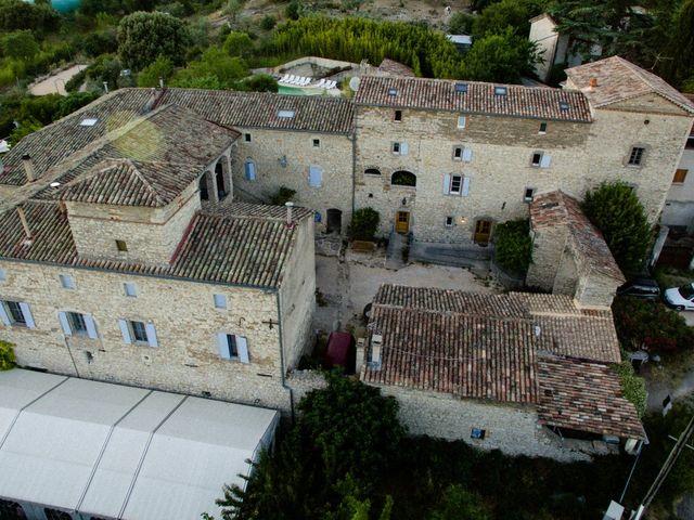 Le mariage de Nicolas et Aline à Rousson, Gard 4