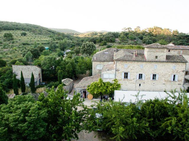 Le mariage de Nicolas et Aline à Rousson, Gard 5