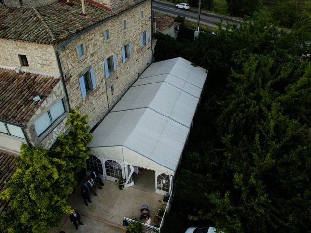 Le mariage de Nicolas et Aline à Rousson, Gard 6