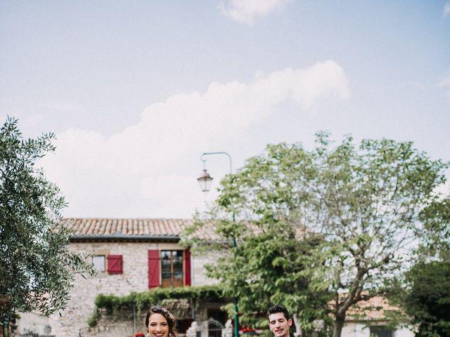 Le mariage de Nicolas et Aline à Rousson, Gard 22
