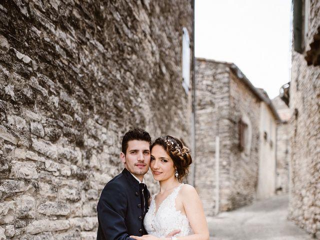 Le mariage de Nicolas et Aline à Rousson, Gard 29