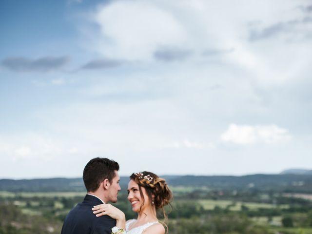 Le mariage de Nicolas et Aline à Rousson, Gard 31
