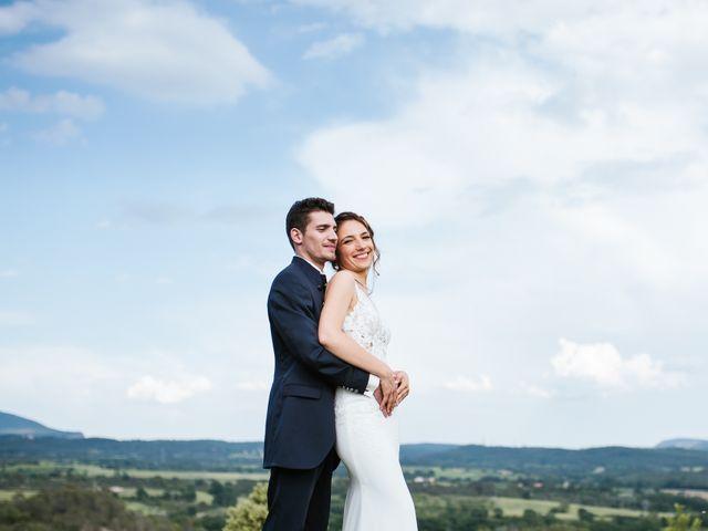 Le mariage de Nicolas et Aline à Rousson, Gard 35