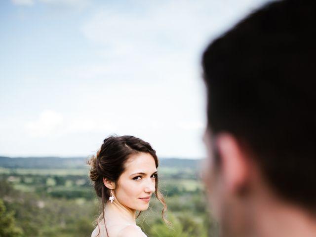 Le mariage de Nicolas et Aline à Rousson, Gard 41