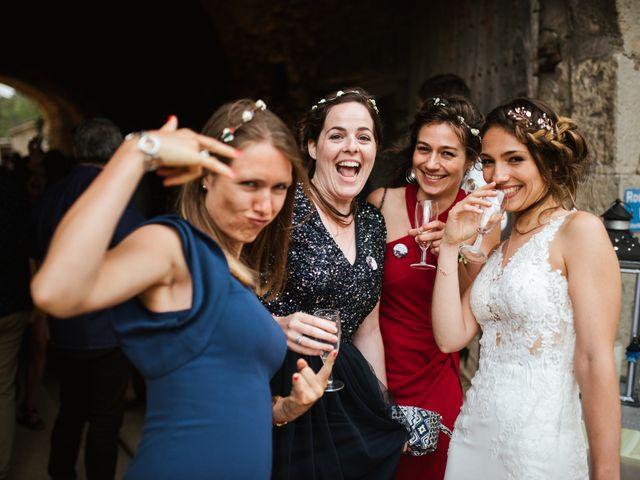 Le mariage de Nicolas et Aline à Rousson, Gard 55