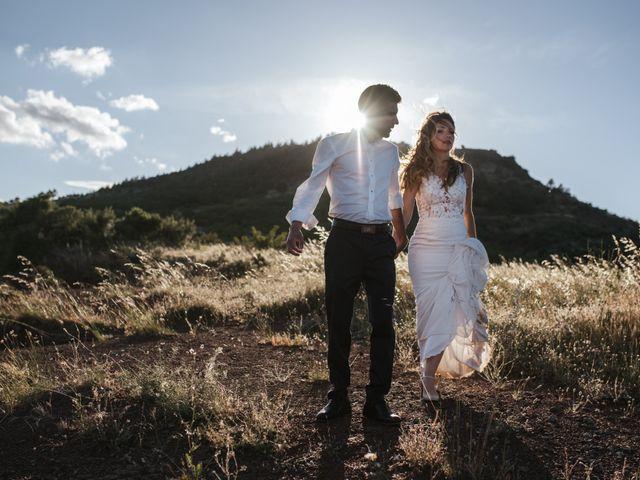 Le mariage de Nicolas et Aline à Rousson, Gard 69