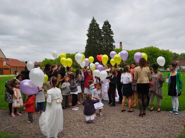 Le mariage de Marie et Benoît à Luxeuil-les-Bains, Haute-Saône 23