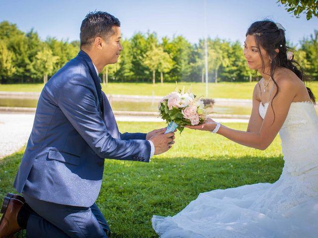 Le mariage de Rythya et Veasnard
