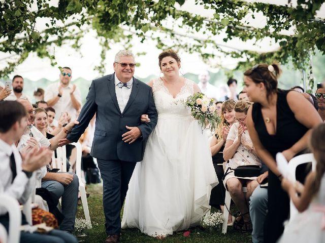 Le mariage de Bastien  et Othilie à Chambost-Allières, Rhône 8