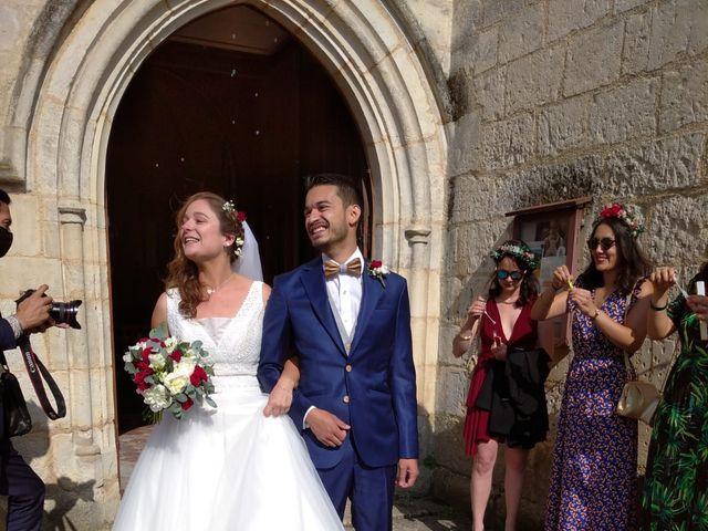 Le mariage de Alex et Marie à Sainte-Gemme-Moronval, Eure-et-Loir 4
