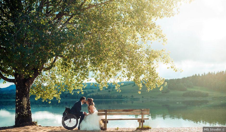 Le mariage de Maxime et Emina à Labergement-Sainte-Marie, Doubs