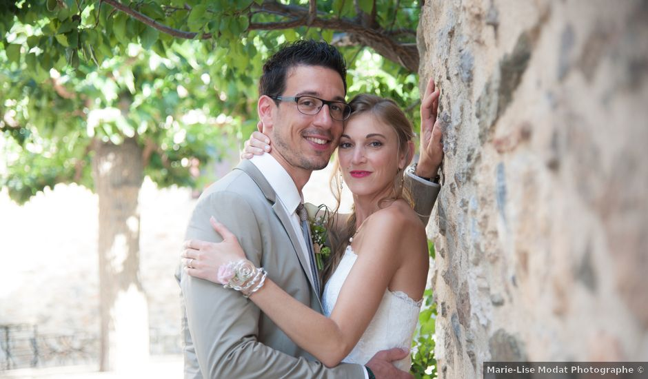 Le mariage de Adrien et Céline à Le Soler, Pyrénées-Orientales
