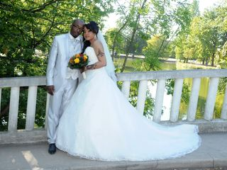 Le mariage de Jean-Philippe et Nadjma 1
