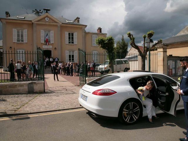 Le mariage de Vincent et Emilie à Asnières-sur-Oise, Val-d'Oise 13