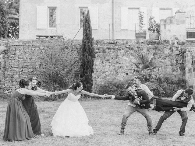 Le mariage de Jerome et Karine à Vayres, Gironde 34