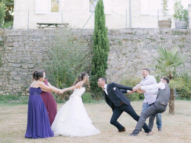 Le mariage de Jerome et Karine à Vayres, Gironde 35