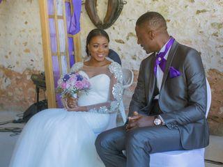 Le mariage de Serge et Carline