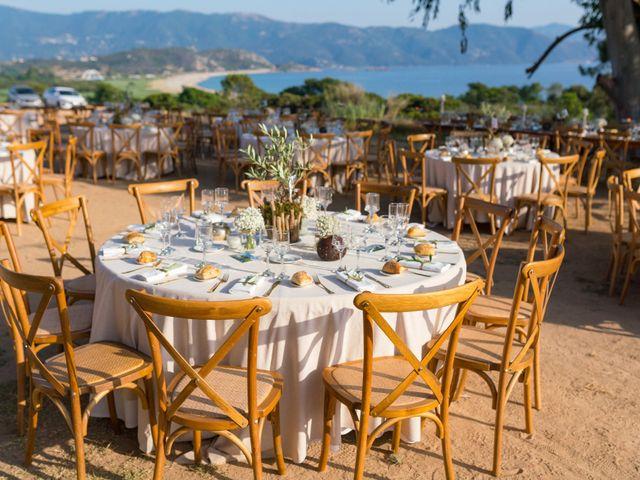 Le mariage de Geoffrey et Clémence à Ajaccio, Corse 20