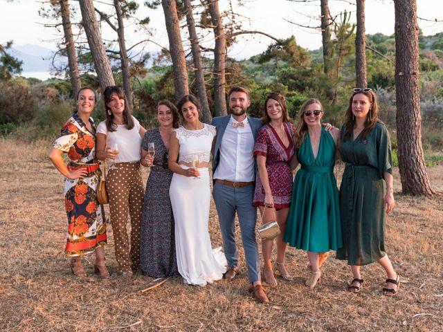 Le mariage de Geoffrey et Clémence à Ajaccio, Corse 32